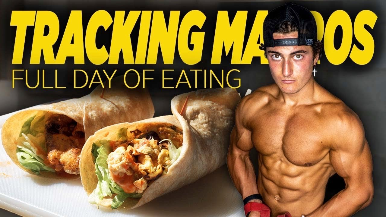 HOW TO TRACK YOUR MACROS | FULL DAY OF EATING