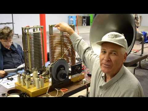 World's Largest Crystal Radio K9QD