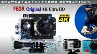 WISH: REVIEW F60R Original 4K Ultra HD Sports Camera Action DV Camcorder