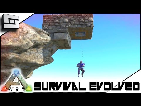 ARK: Survival Evolved - GRAPPLING HOOK ELEVATOR! S3E47 ( Gameplay )
