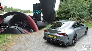 My Toyota GR Supra TOP SPEED VMAX DRIVE!