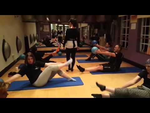 Pilates Dynamics Group class