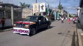 Desfile fiestas patrias Nealtican 16 septiembre 2016