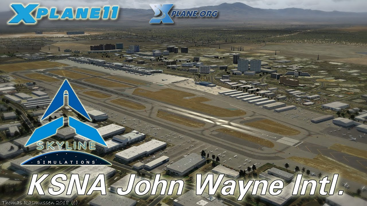Skyline ksna john wayne intl airport for x plane 11 youtube skyline ksna john wayne intl airport for x plane 11 sciox Images