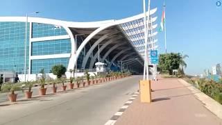 Goa International Airport,Goa Dabolim Airport,Goa airport inside,Goa airport landing,Goaairportvideo