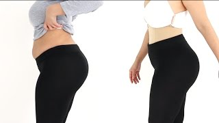 The perfect Seamless Body Shaper Before and After