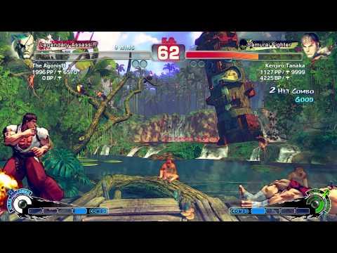 The Agonistt [Sagat] Vs Kenjiro [Ryu] - Endless Battle