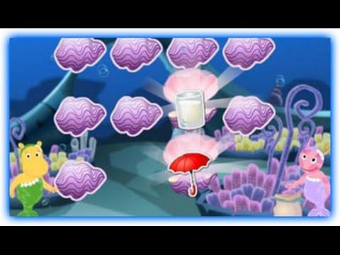 The Backyardigans Games - Back Mermaid Matching