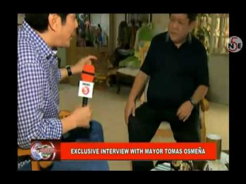 """Exclusive"" Sino Si Mayor Tomas Osmeña? - Interview With Raffy Tulfo!"