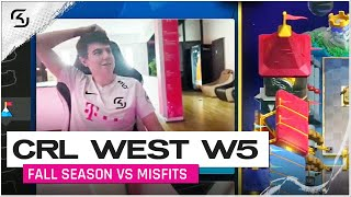 CRL West Fall Season 2020 Week 5 | SK Gaming vs Misfits | Moment