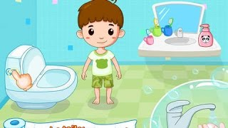 Toilet Training Baby's Potty - iPad app demo for kids - Ellie