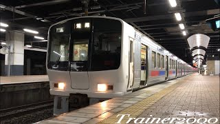 【JR九州】夜の小倉駅を発車する811系8B唸るモーター (60P)
