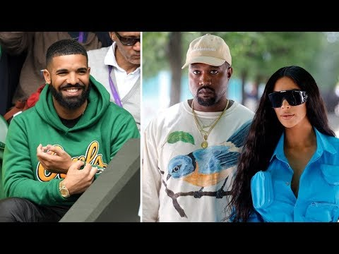 Kanye West Blasts Drake for Allowing Rumors of him Smashing Kim Kardashian to Continue + KEKE song.