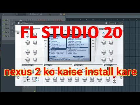 How To Install Nexus 2 In Fl Studio 20// Fl Studio Me Nexus2 Ko Kaise  Add Kare