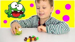 Ам ням їсть цукерки! Іграшка м'ялкою антистрес Ам Ням, розпакування нової іграшки