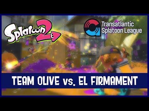 Splatoon 2 - TASL: Team Olive vs. El Firmament