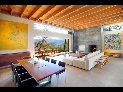 Unique Contemporary Estate in Glen Ellen, California