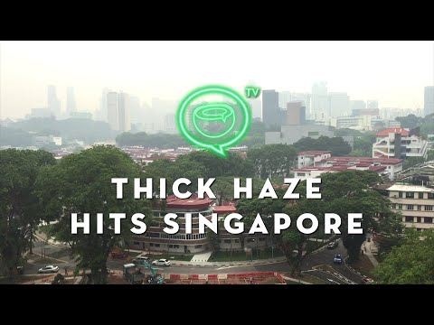 Thick haze hits downtown Singapore | Sept. 14, 2015 | Coconuts TV
