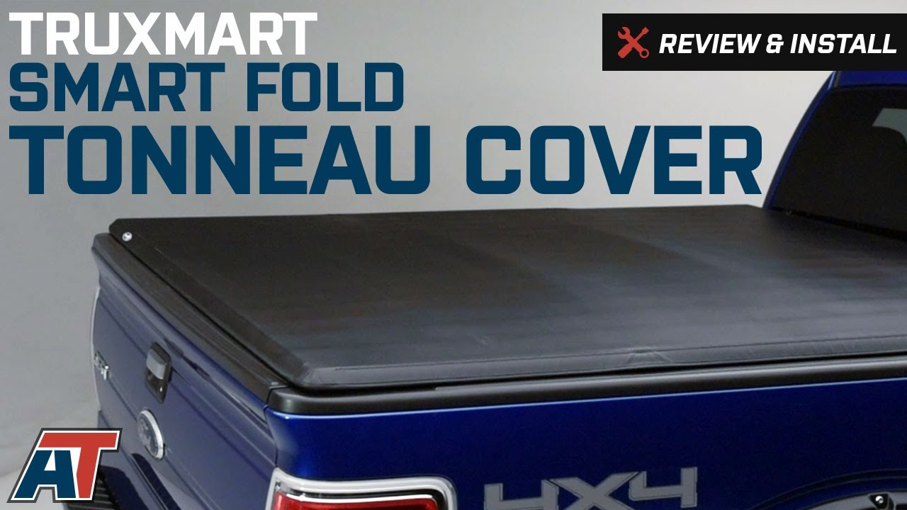 2009 2014 F150 Truxmart Smart Fold Tonneau Cover Review Install Youtube