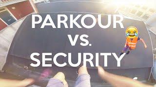 PARKOUR vs. SECURITY - POV Parkour   JonaTV