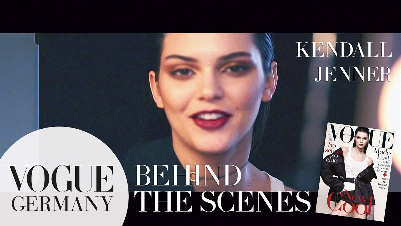 Kendall Jenner beim Getting ready für das Cover-Shooting | VOGUE Behind the Scenes