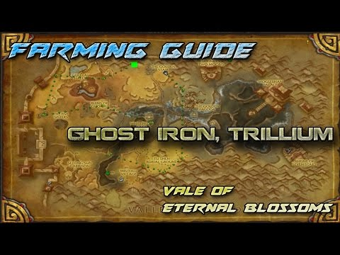 Mining Guide | Ghost Iron, Trillium -  Vale Of Eternal Blossoms!