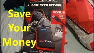 Red Fuel Jump Starter Review