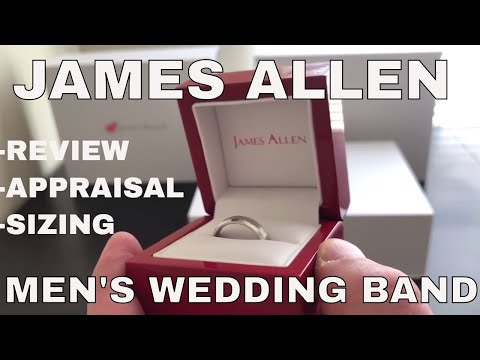 Men's Wedding Band Review and Unboxing