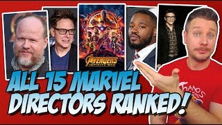 All 15 MCU Directors Ranked Worst to Best (Marvel Cinematic Universe)