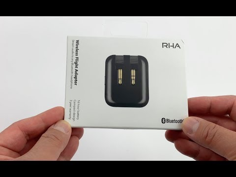 Review: The Awesome 👏 RHA Wireless Airline Adapter