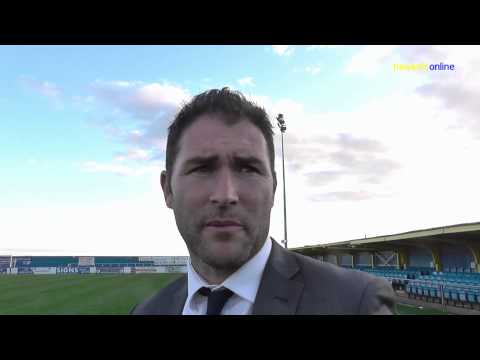 Canvey I v Havant & Waterlooville FA Cup reaction Oct 2014