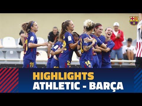 [HIGHLIGHTS] COPA (FEM): FC Barcelona – Athletic (2-2)