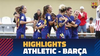 [HIGHLIGHTS] COPA (FEM): FC Barcelona – Athletic (2-2)