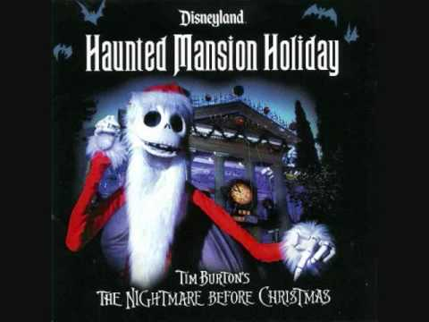 * Disneyland Haunted Mansion Holiday ride soundtrack part 2