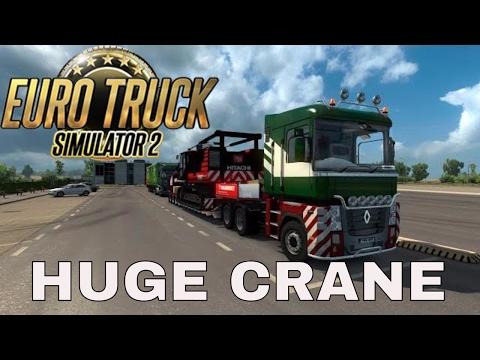 ETS 2 1.27 ProMods 2.16 with Crawler Crane Mammoet Trailer - ANDORRA