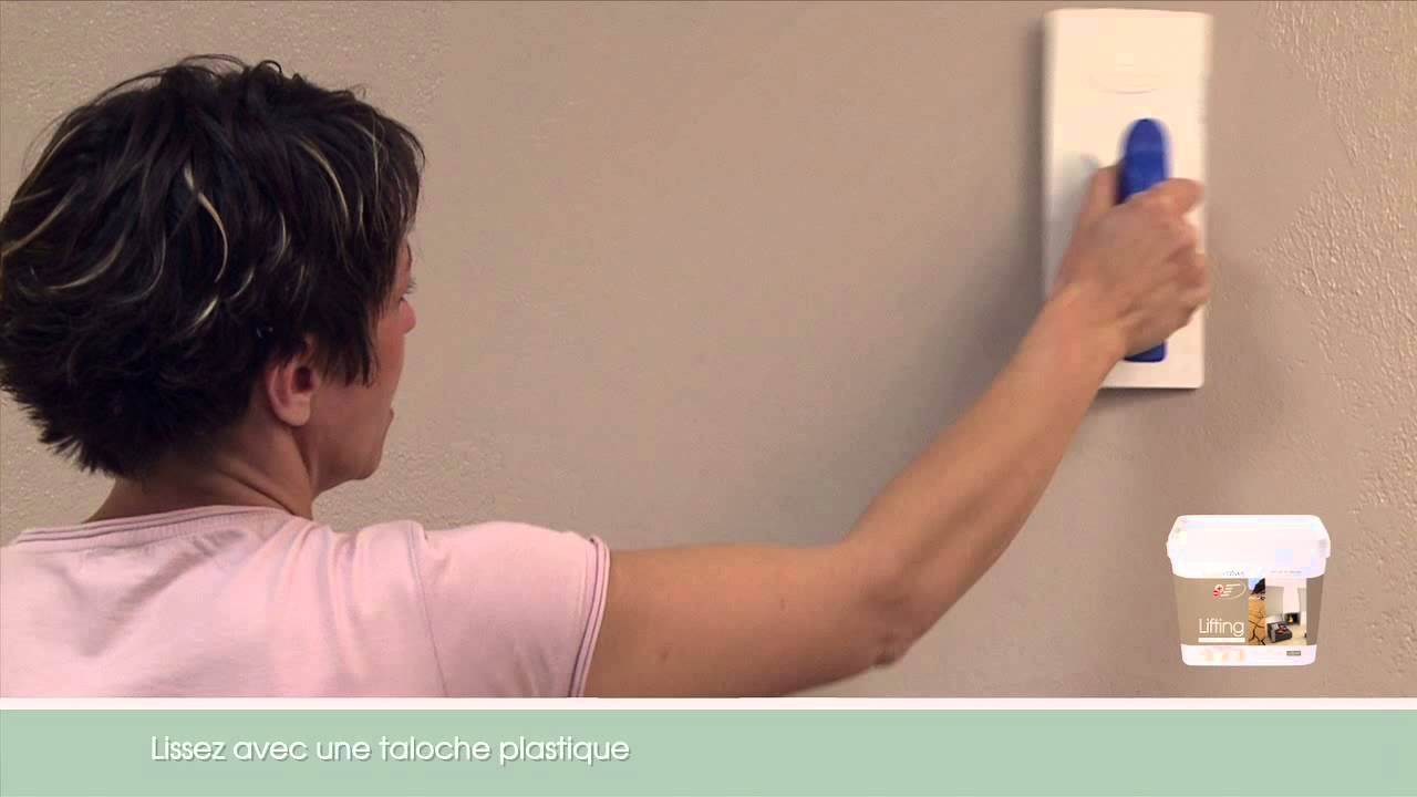Lifting youtube - Peinture a la taloche video ...