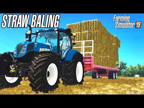 Straw baling in United Kingdom