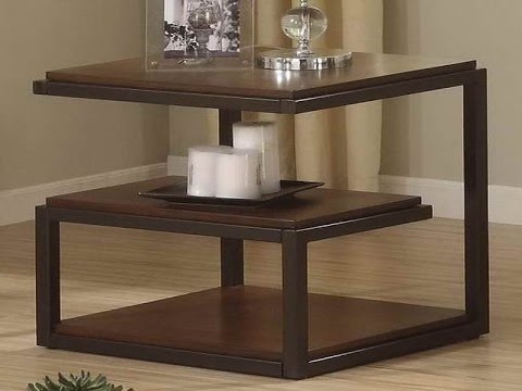 Living Room Side Tables Furniture Ideas - YouTube