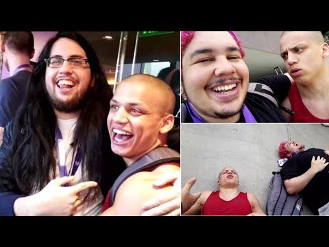 Tyler1 Meets Imaqtpie & Greekgodx IRL for the First Time!  | LoL Moments