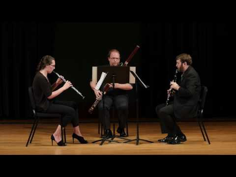 Gordon Jacob  Trio for Oboe, Clarinet, and Bassoon: IV. Allegro vivace
