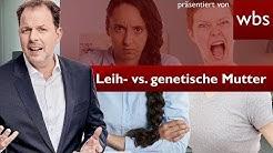Leihmutter im Ausland: Bleibt genetischen Eltern nur die Adoption? | Rechtsanwalt Christian Solmecke