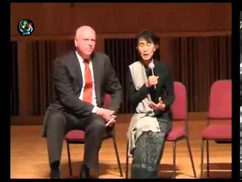 Aung San Suu Kyi   Speech and Q&A at Queens College, New York, September 22, 2012