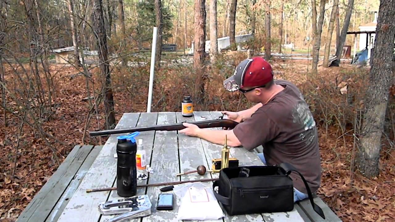 Shooting the Lyman Great Plains Rifle  54 Cal Part 2