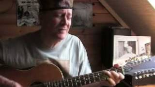 Silver City Bound - Leadbelly - Acoustic 12-string guitar