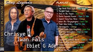 [3in1] Iwan Fals, Ebiet G. Ade & Chrisye - Terbaik Dari Sang Legenda - HQ Audio