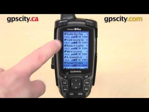 Garmin GPSMAP 64 Series: Geocaching Quick Start with GPS City