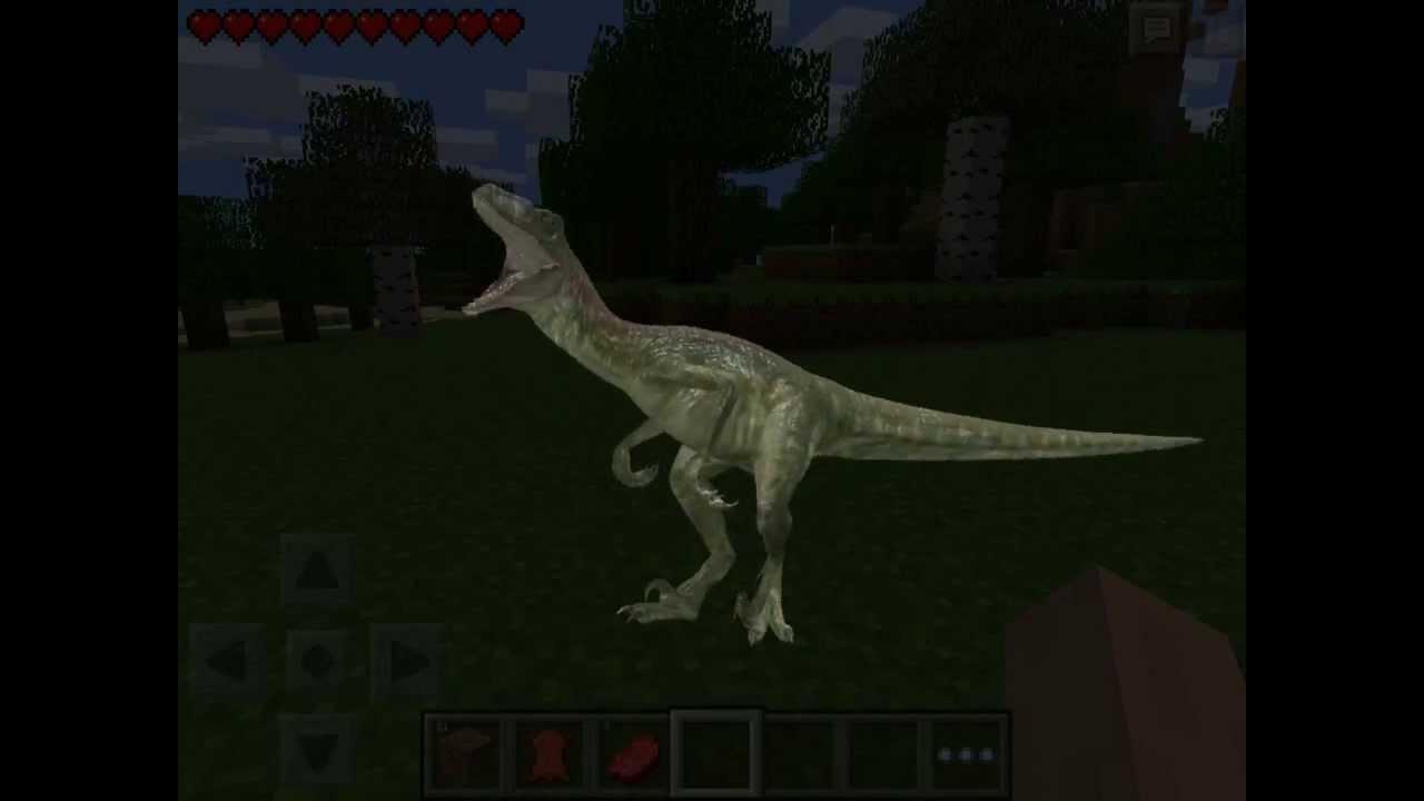 dinosaur mod for minecraft apk