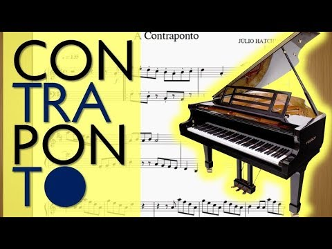 A Contraponto Música Clássica Piano  Piano Classical  Counterpoint - Júlio Hatchwell