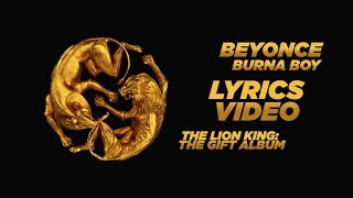 Beyonce Burna Boy The Lion King The Gift.mp3