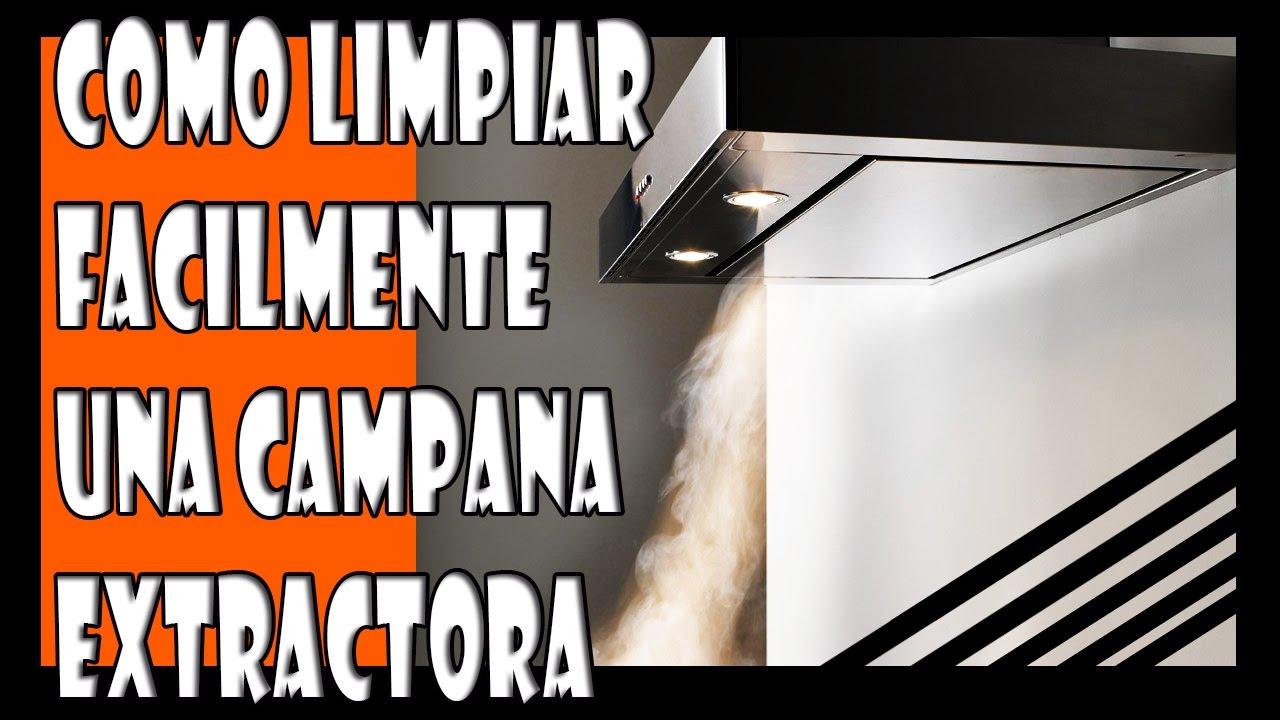 C mo limpiar facilmente una campana extractora de cocina - Limpiar campana extractora ...